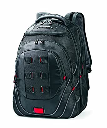 Samsonite Luggage Tectonic Backpack, Black/Red, One Size