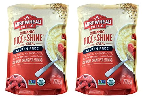 Arrowhead Mills Organic Gluten Free Rice & Shine, 24 Ounce (Pack of 2)