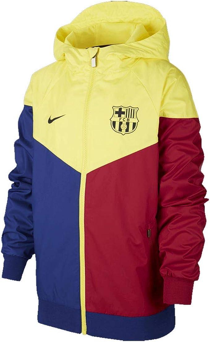chatarra Monarquía Talentoso  Amazon.com : Nike 2019-2020 Barcelona Authentic Windrunner (Deep Royal) -  Kids : Clothing