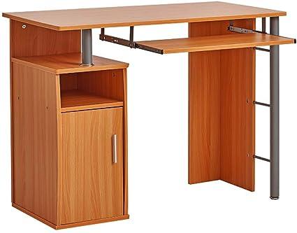 Maison Marron Panana Bureau Informatique Table de lordinateur sur Bureau F/ête 120 x 60 x 75 cm
