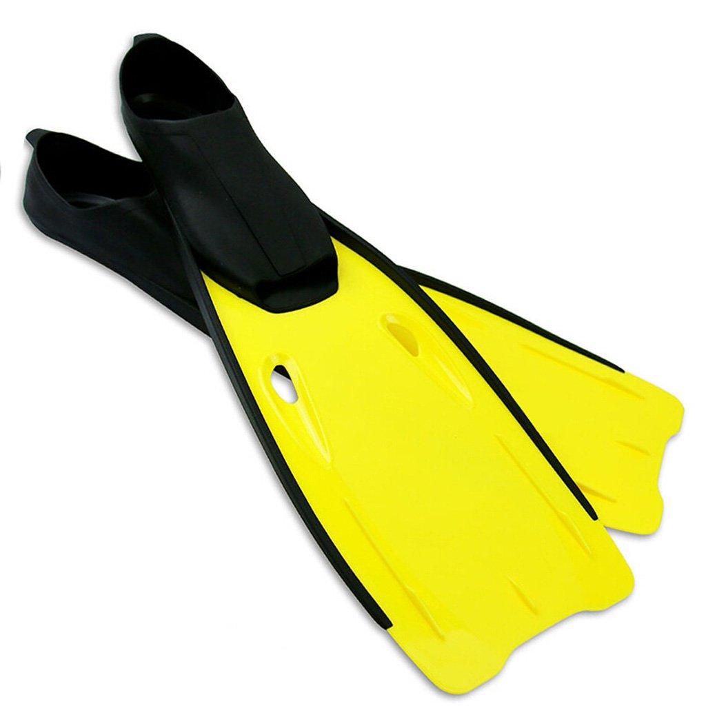 イエロー大人のダイビングシューズスキューバギアスイミングスノーケリングダイビングスイミングサーフに適用3サイズオプション B07F3W23P3   US 7.5-8