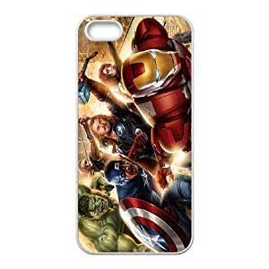 IPhone 5,5S Phone Case for Spiderman Thor Hulk Iron Man pattern design
