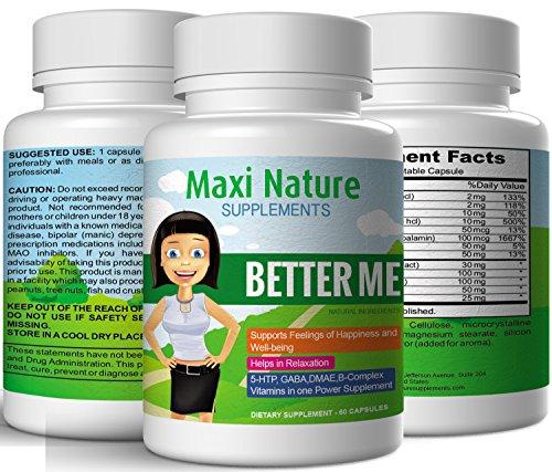 Maxi Nature Supplements Better Me Positive Mood Formula