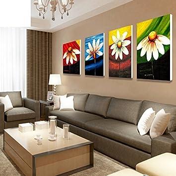 Charmant USDBAVBSCFWS Blumen Dekoration Malerei/modernes Wohnzimmer Wandbilder/schlafzimmer  Bett Bild/treppe Gang