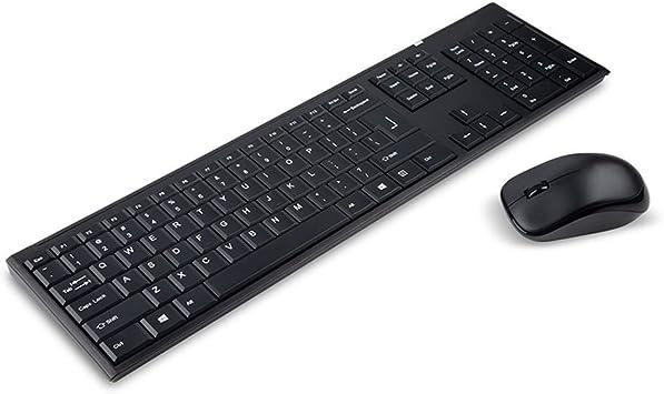 UQY Keyboard Teclado ordinario Teclado de ratón Teclado para ...