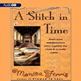 Front cover for the book A Stitch in Time by Monica Ferris