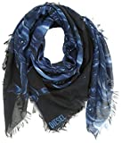 Diesel Men's Seric Scarf, Black, One Size