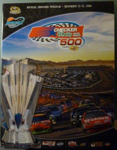 (Official Program - Checker O'Reilly Auto Parts 500 Presented by Pennzoil - Phoenix International Raceway - November 12 - 15, 2009 - NASCAR)
