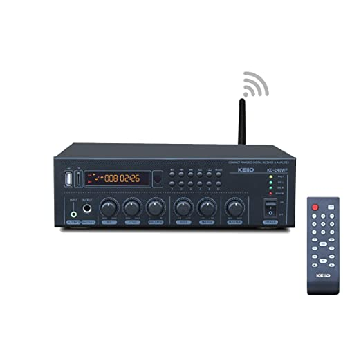 Keiid Wifi & Bluetooth 5.0 Stereo Digital Amplifier Receiver