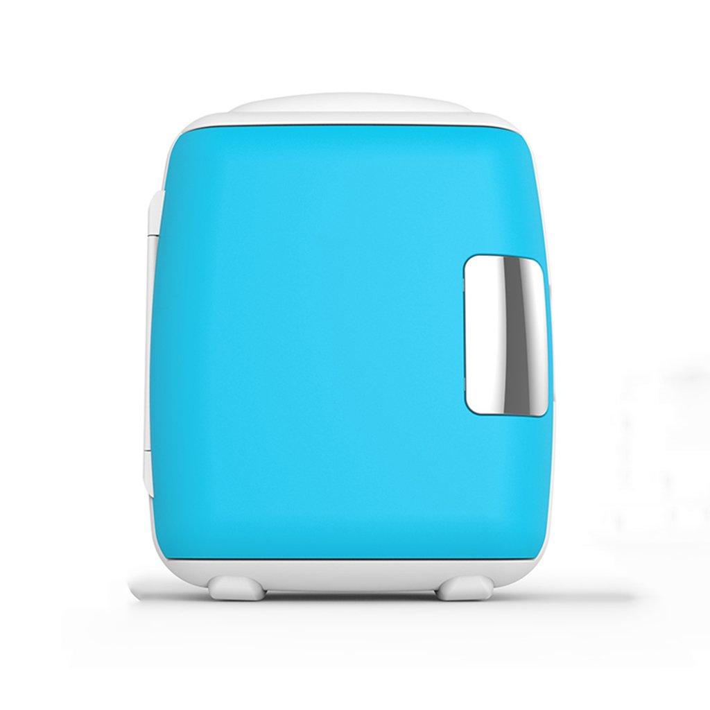 車ミニ冷蔵庫ミュート小型冷蔵暖房学生多機能シングルドアタイプデュアルユースカーホーム,Blue,8L 8L Blue B07DRHH8Z1