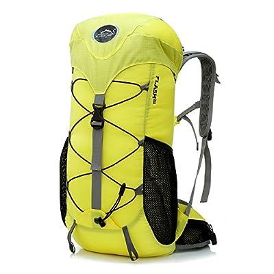 hongrun piscine en plein air 50 litres d'eau de grande capacité à l'épreuve des hommes et femmes camping escalade randonnée sac à dos sac à bandoulière double