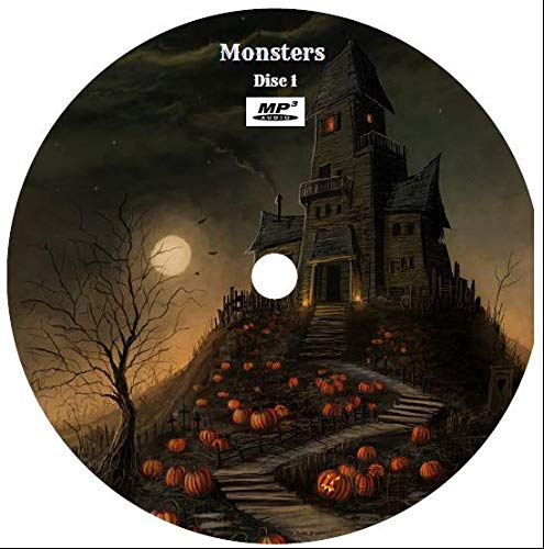 Halloween Monster Collection Old Time Radio Mp3 3-cd's (284 Episodes)