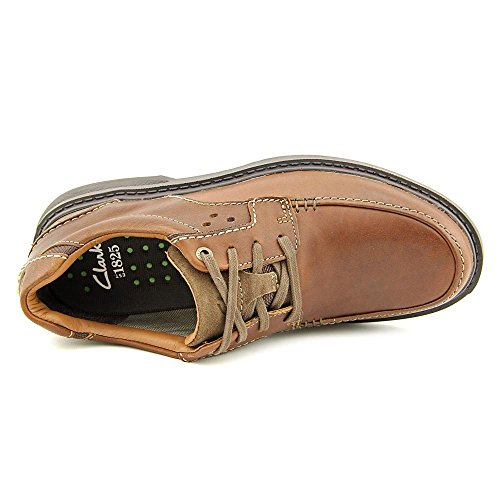 Clarks Wave Center Ave Mens Brown Leather 7-MEDIUM oFZhZc1EA