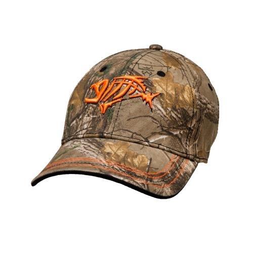 G. Loomis Flex Camo Cap (Orange, L/XL)