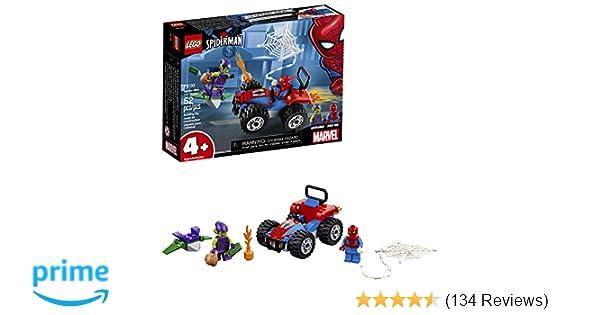 LEGO Marvel Spider-Man Car Chase 76133 Building Kit (52 Piece), Multicolor
