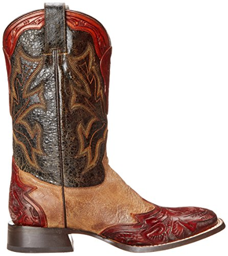 Stetson Menns Jack Riding Boot Antikk Gult
