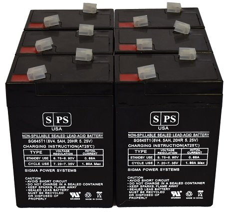 sigmas-sp6-5-sealed-lead-acid-agm-vrla-replacement-battery-6-pack-sps-brand