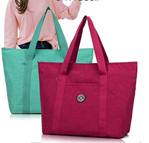 Shoulder Tote Nursery Handbag Bag HUGE Fashion Waterproof Bag Beach Bag EXTRA Travel Size Shopping Women LARGE 41x18x38cm Maternity Changing Emerald Bag Ladies Green SIZE Cabin FxUpFw0Tq
