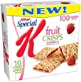 Special K Fruit Crisps, Strawberry, 10-Count Bars (Pack of 6)