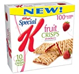 Special K Fruit Crisps, Strawberry, 10-Count Bars (Pack of 6) For Sale