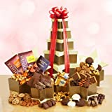 Godiva Dreams Holiday Chocolate Gift Basket