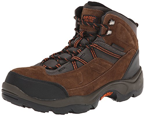 Hi-Tec Men's Bandera Pro Mid ST Work Boot,Chocolate,10.5 M US