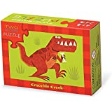 Crocodile Creek 24-pc Two-sided puzzle/Dinosaurs