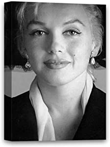 Funny Ugly Christmas Sweater Marilyn Monroe Canvas Art Monroe Classic Portrait Kitchen Bathroom Decor Ideas Marilyn Photo Portrait 8