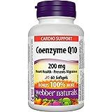 Webber Naturals Coenzyme Q10 High Potency Antioxidant Softgels, 200mg