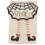 Mud Pie Halloween Dangle Leg towel (Witch Leg)