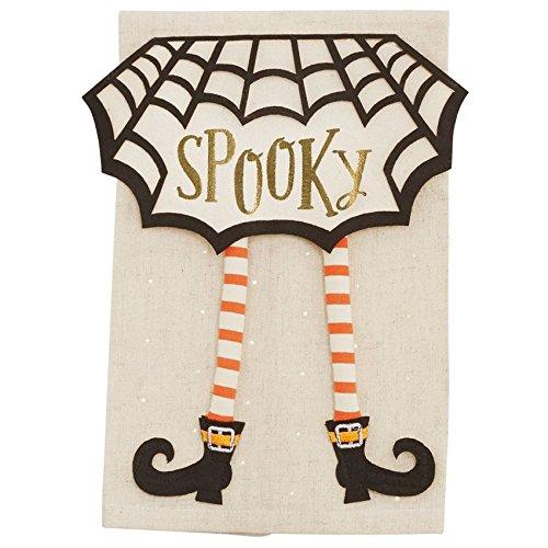 Mud Pie Halloween Dangle Leg towel (Witch Leg)