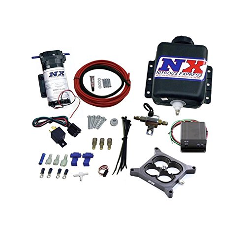 Nitrous Express 15026 Water-Methanol Injection System for Gas Stage 2 Naturally Aspirated Carbureted Engine ()