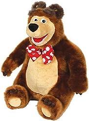 Lovely character from the cartoon Masha and the Bear Funny Plush Soft Toy Teddy Bear Masha