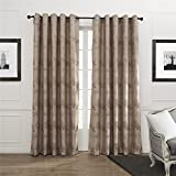 "IYUEGO Wide Curtains 120Inch-301Inch for Large Windows Country Retro Style Lush Trees Pattern Grommet Top Blackout Curtains Drapes With Multi Size Custom 120"" W x 84"" L (One Panel)"