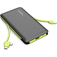 Portable Charger 10000mAh External Battery Pack High-Speed Smart Charger Power Bank Quick Charge Portable Charger 3…