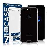 Tech Armor Apple iPhone 7 Plus (5.5-inch) - FlexProtect Clear Resistente a Rayones y Huellas Dactilares Garantia...