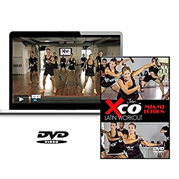 XCO Latina entrenamiento por Jackie - Zapatillas deportivas Miami Edition DVD + XCO Combo Paquete: Amazon.es: Deportes y aire libre