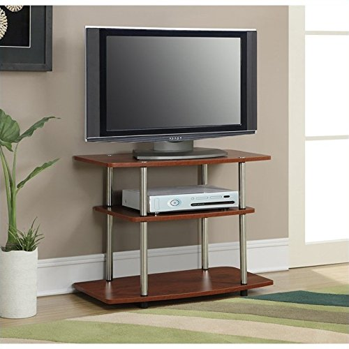 Pemberly Row 3 Tier TV Stand – Cherry