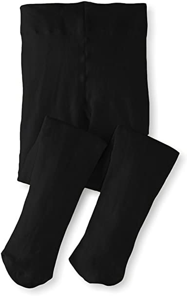 Banner Bonnie Toddler to Big Girls Opaque Microfiber Dance Stockings Kids School Uniform Footed Tights