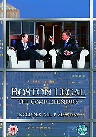 Boston Legal Complete Series - 27-DVD Box Set Boston Legal ...