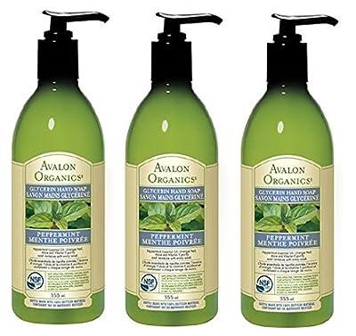 Avalon Organics Glycerin Hand Soap, 12 Ounce Bottles