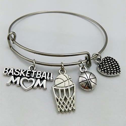 Basketball Charm Bracelet: Amazon.com: Basketball Bracelet, I Love Basketball