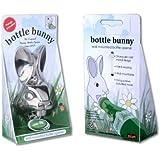 Bunny Bottle Opener Wall Mounted Cool Beer Cap Robust Chrome Metal Rabbit Head