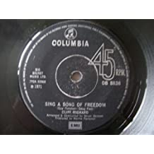"""Sing A Song Of Freedom / A Thousand Conversations - Cliff Richard 7"""" 45"""