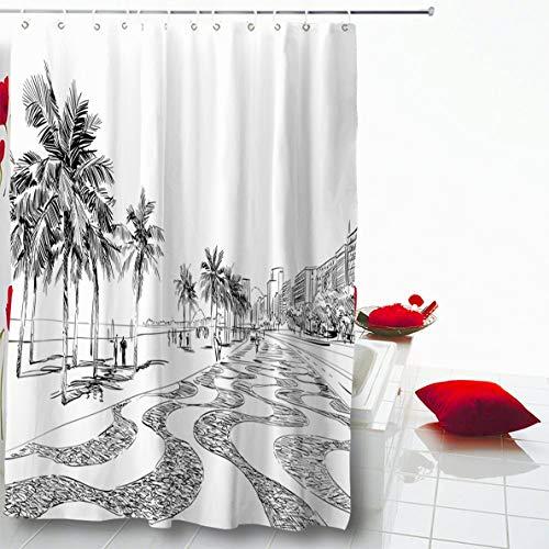 Ahawoso Shower Curtain 66