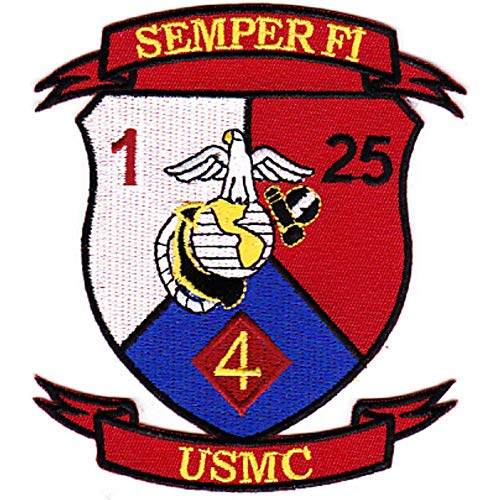 1st Battalion 25th Marines 4th Division Patch (Marines 4th Patch)
