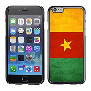 Graphic4You Vintage Cameroonian Flag of Cameroon Design Hard Case Cover for Apple iPhone 6 by lolosakes
