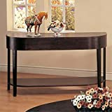 Coaster Gough Casual Cappuccino Occasional Sofa Table with Shelf Review