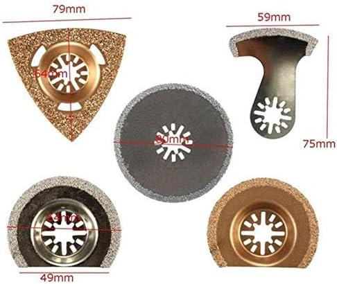 Gulakey 高炭素クリニーク振動マルチツールはブレードセットフィットを見ました