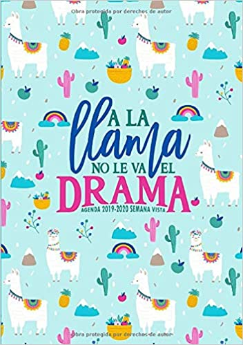 Amazon.com: A la llama no le va el drama: Agenda 2019-2020 ...